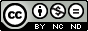 Uznanie autorstwa-Użycie niekomercyjne-Bez utworów zależnych